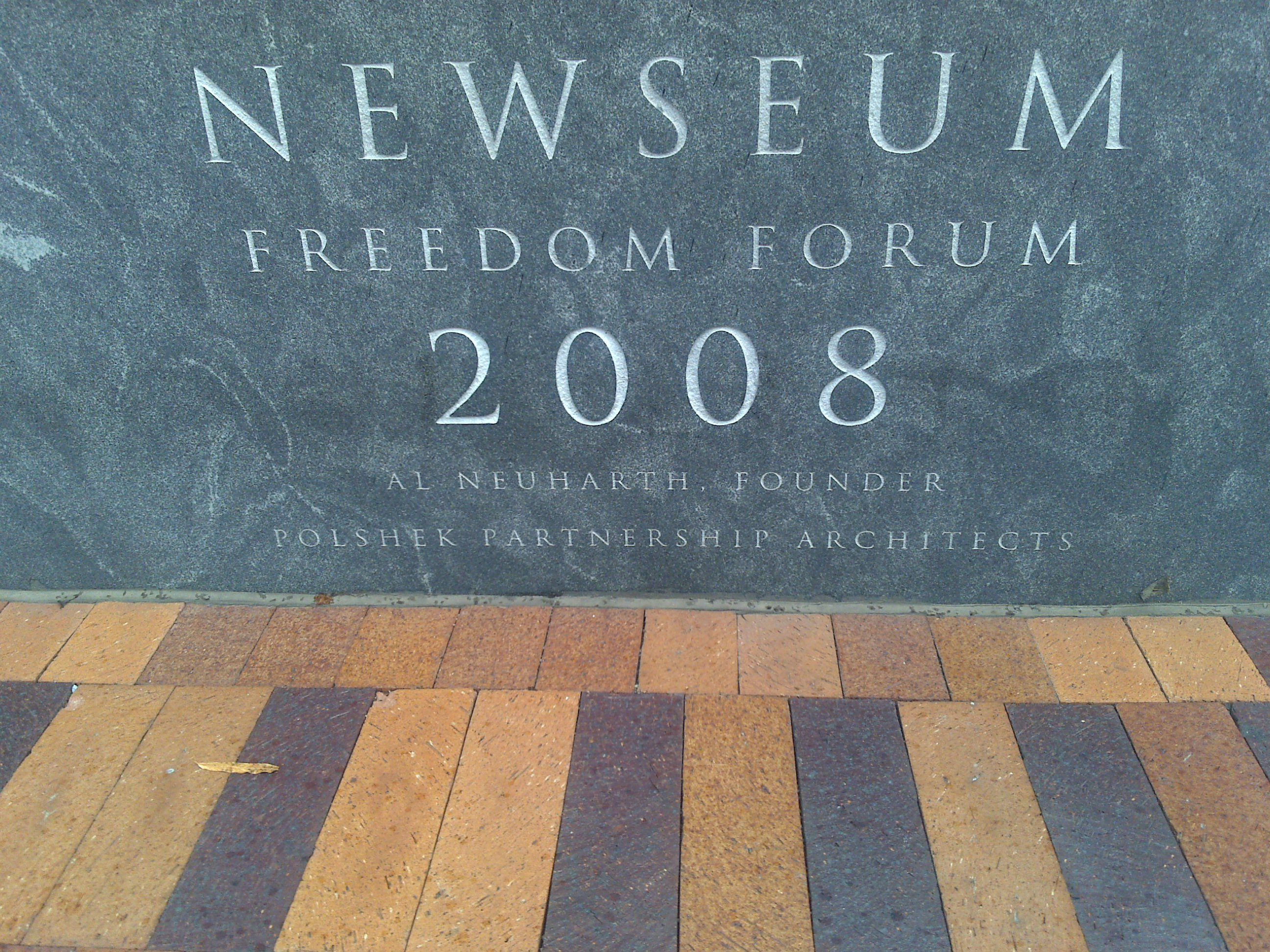 Newseum Tablet